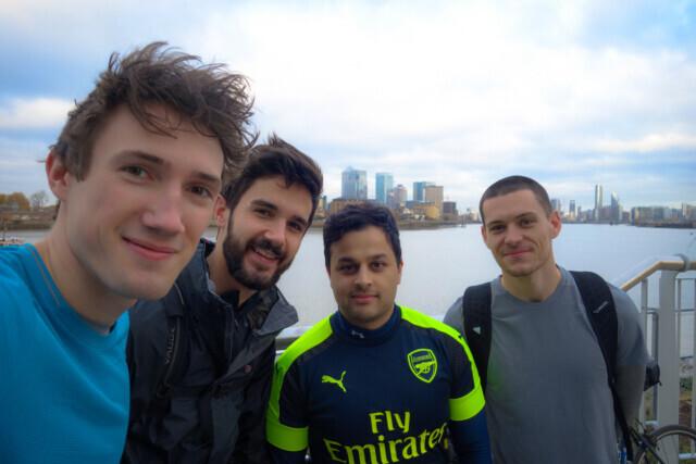 London to San Sebastian Cycle - 2017
