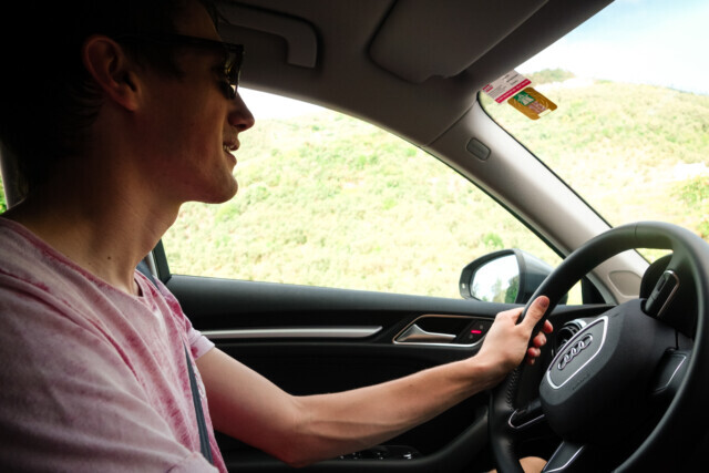 Driving in Tuscany - 2015