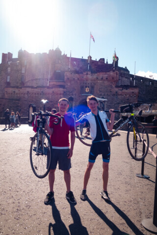 London to Edinburgh Cycle - 2016