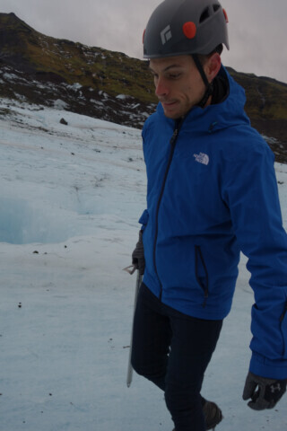 Walking on a Glacier - 2016